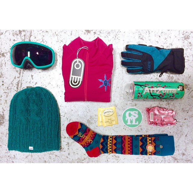 Looking for stocking stuffers for that lady in your life? We have tons of snowboard accessories. #CSTLwinter #CSTLchristmas