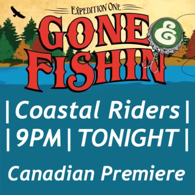 Tonight at 9pm. It's the Canadian Premiere of the @expeditionone full length film #GoneFishin at #CoastalRiders @timebombtrading. Makes sure you check our last post to enter to win free #expeditionone deck. See you all tonight. #skateboarding