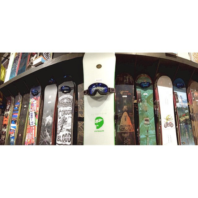 Until Christmas: BUY ANY 2015 snowboard and get a FREE pair of Spy Marshalls. #CSTLchristmas #free