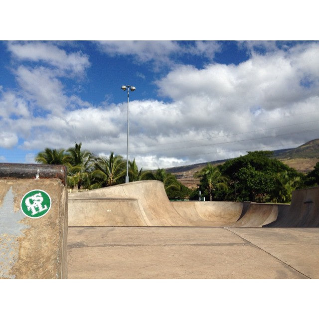 @coastalriders sticker spotted at #lahaina skate park in Maui #coastalglobal #hawaii photo: @jaspersmythe