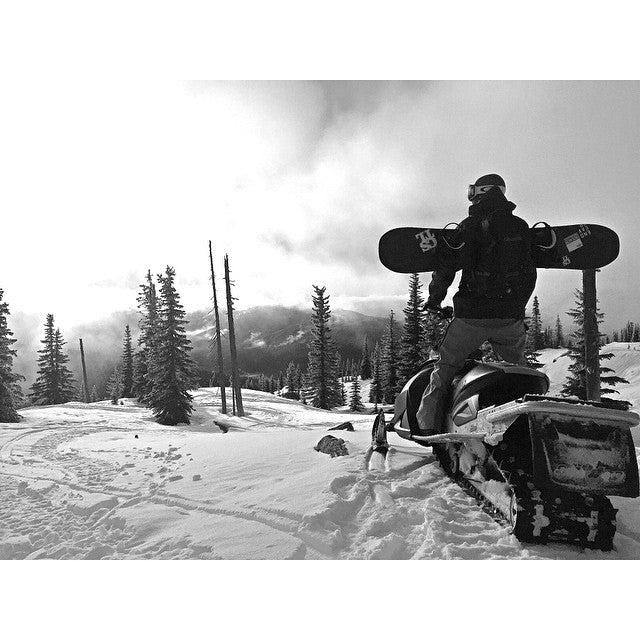 @bradheppnerphoto out scouting lines in the #backcountry.  @davewalley. #cstl #cstlwinter #CoastalRiders
