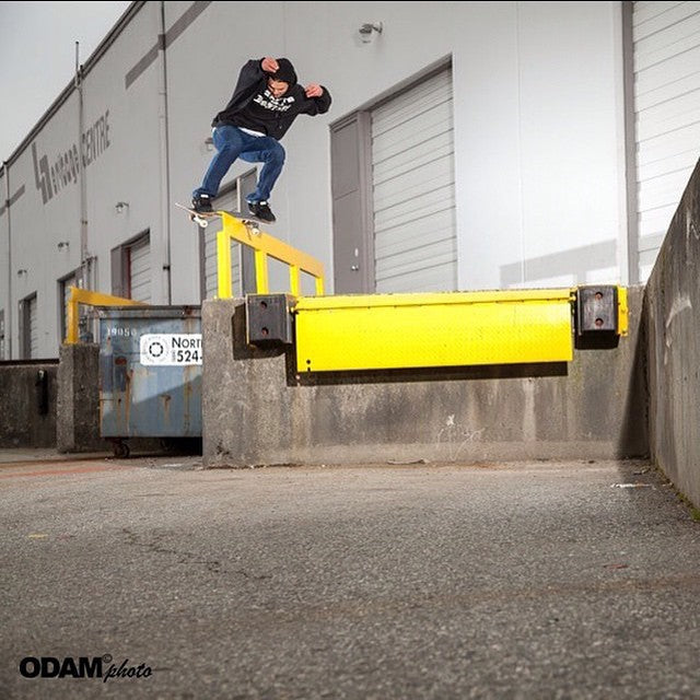 @jordanzazula shot by @richodam. @lakailtd @supradist #regram #skateboarding #zaz #CoastalRiders #cstl