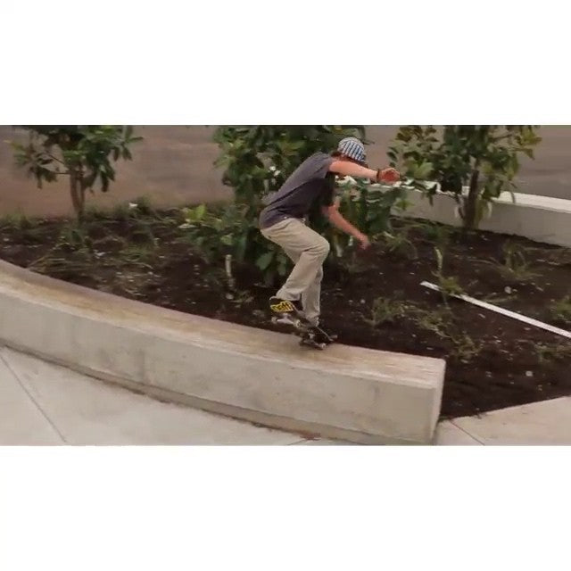 #regram from filmer @davidstevens. @samhampton with few tricks from last summer. #skateboarding #CoastalRiders #cstl