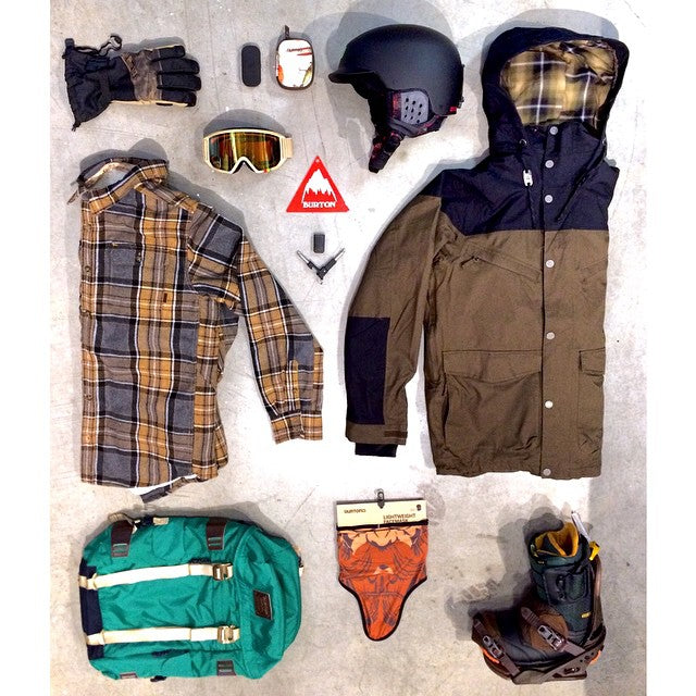 Today's #WellPacked brought to you by @burtonsnowboards #CSTLwinter