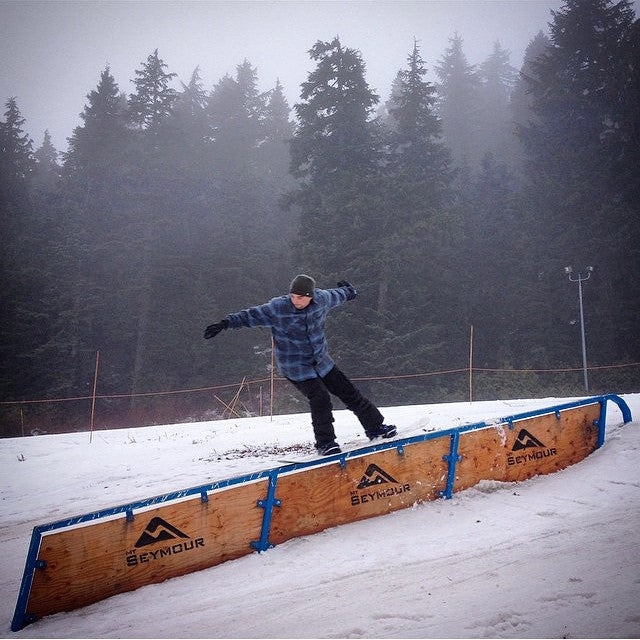 It may be wet out there, but that doesn't slow down @njoycey. Nosepress at @mtseymour. #CSTLwinter #CoastalRiders #ratfink  @wtaylorcox