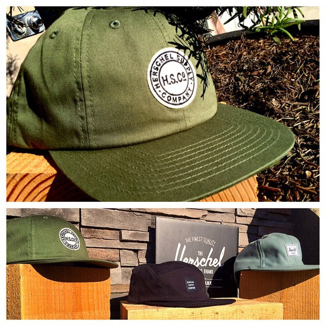 New @herschelsupply hats are here. Keep the sun out ya eyes and off ya head with these 5 panels and snap backs. #HerschelSupplyCo #wellpacked #CoastalRiders #CSTL