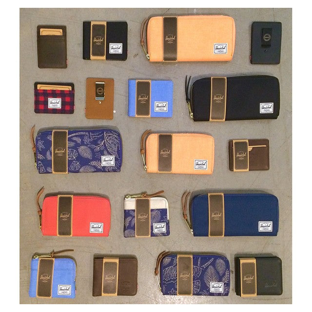 Last minute Valentine's Day shopping? Tons of @herschelsupply wallets just in. ️ #CSTLspring #HerschelSupply