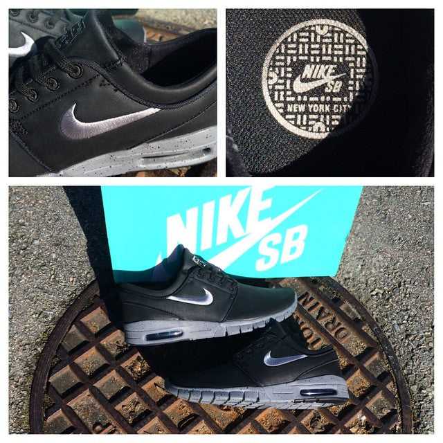 The @nikesb Janoski Max #NYC #Sewers Quick Strike drops today. Inspired by the streets of New York. #nikesb #qs #quickstrike #janoski @slj1000 #CoastalRiders #CSTL #NY #NewYork #CSTLspring
