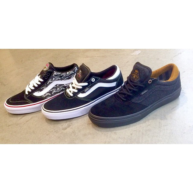 Another addition to our shoe wall - @vans @gilbertcrockett pro models and Anti-Hero TNTs #CSTLspring #vans