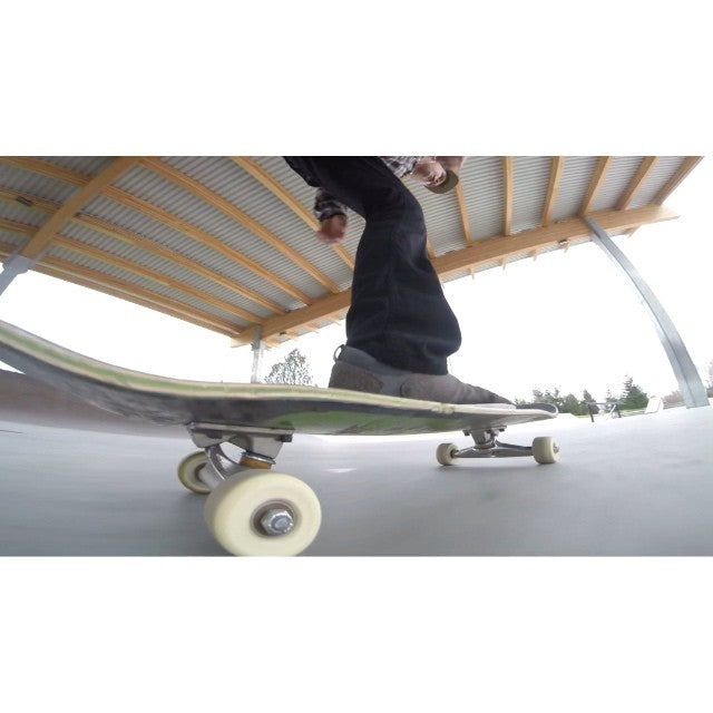 Happy Friday yall! @brendannielsen15 celebrates Friday with a quick line at #cloverdale  by @davidstevens #skateboarding #gopro
