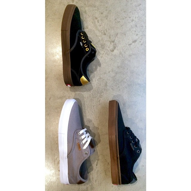 We got in 3 sweet color ways of @vans @chimaferguson pro models. Perfect for this warm spring weather #CSTLspring