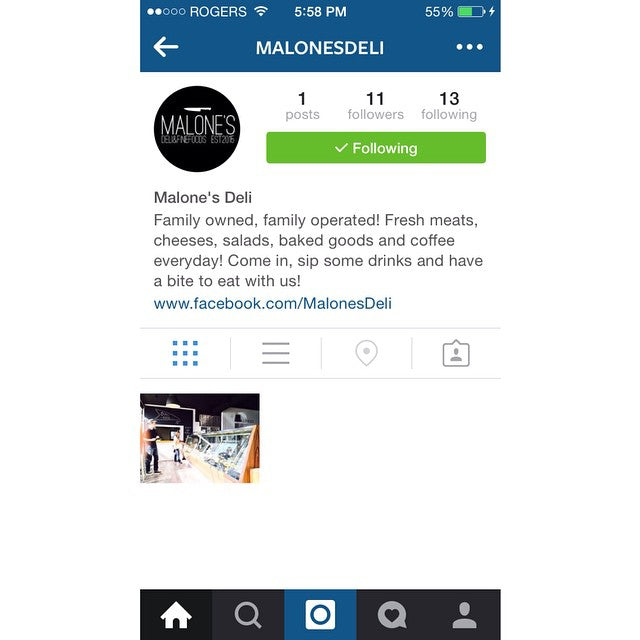 @malonesdeli got their Instagram up and running check out the page and give them a follow. Also stop by tomorrow if you're in the area. #SupportLocal #Familyowned #FamilyOperated #OceanPark #MalonesDeli