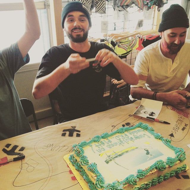 Celebrations need cake, so we got @mattberger_ a congrats on going pro cake! Congrats Matt! @etniesskateboarding @timebombtrading #coastalriders #cstl #etniesgoesnorthwest #etnies