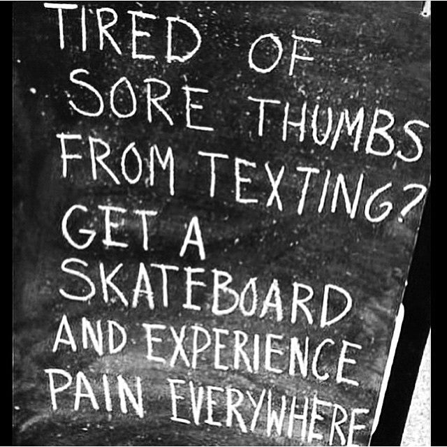 #regram from @kingshitmag. #putdownyourphone #pickupyourskateboard