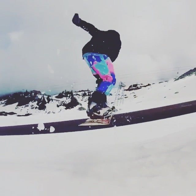 Yung @t_a_c_0 is still boardin and getting it up @whistlerparks. Filmed by @braptorious. @salmonarms @dinosaurs_will_die @fluxbindings #CoastalRiders #CSTL #boardin #taco #NDloc #gopro #WhistlerBlackcomb