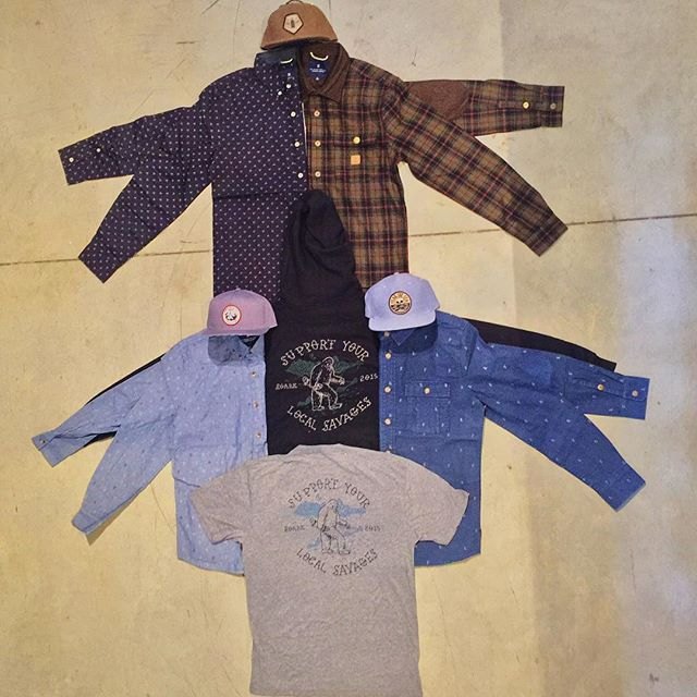 Fresh @roarkrevival fall flannels, hoodies , hats, tees arrived today. #CSTL #Roark #SupportYourLocalSavages #Fall