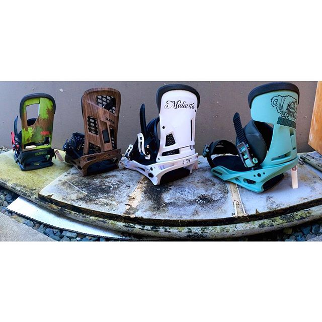 Here's a taste of some aggressive @burtonsnowboards bindings. Available in Re:Flex and EST for the best board feel out there. #burton #CSTL #cartel #genesis #malavita #DEATHFALCON
