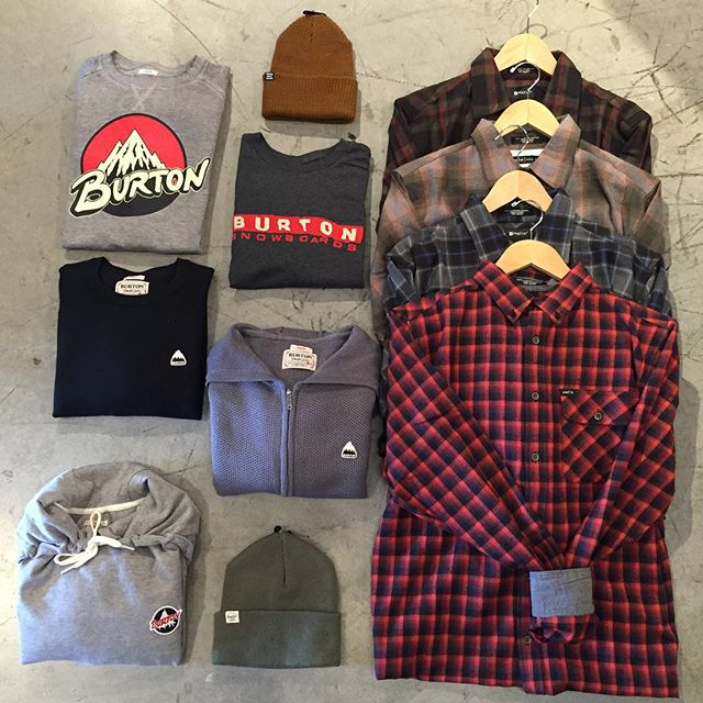 Come check out our new @burtoncanada apparel and our @matixclothing flannels! Tons of new stuff dropping in the shop for fall