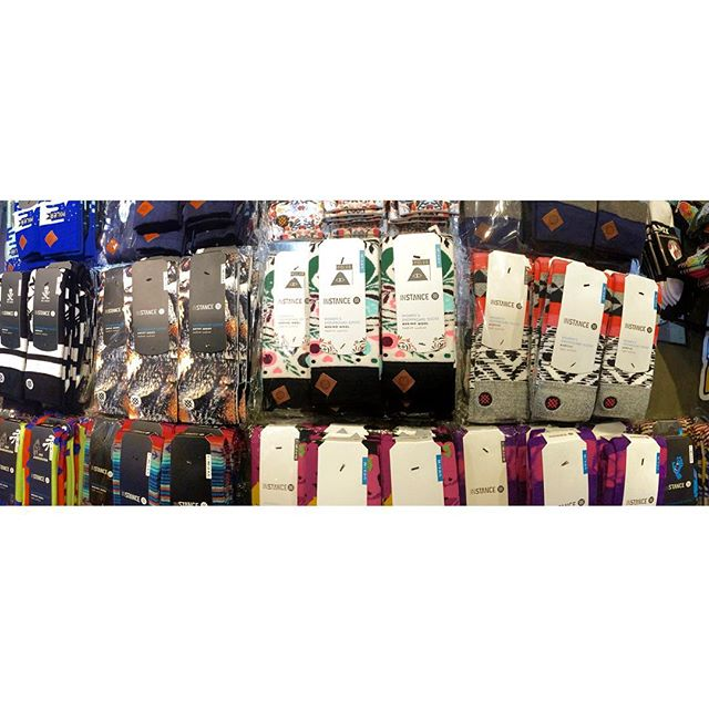 Stance on stance on stance! Fresh stock of @stancemuse snowboarding socks hitting shelves. #CSTLwinter16 #coastalriders #stance