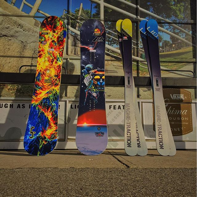 @libtechnologies 2016 boards and skis in stock. #lib #magnetraction #winteriscoming #CSTLwinter16
