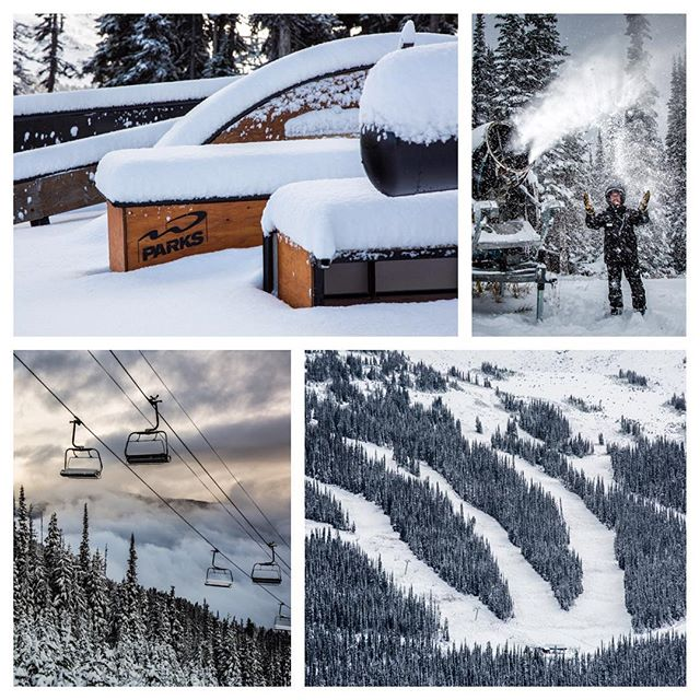 Some photo updates from @whistlerblackcomb ! Come in to get your boards waxed and ready to go. The season is just around the corner.
