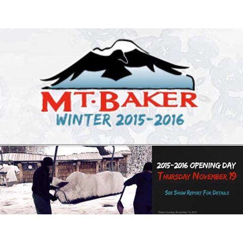 Tee Minus two days till Baker lifts start running. Who's going? #WINTER16 @mtbakerskiarea #powday #CSTL