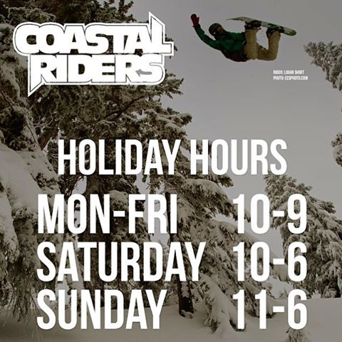 Starting today! Holiday hours, we are open till 9:00pm weekdays! #extremehours #HappyHolidays