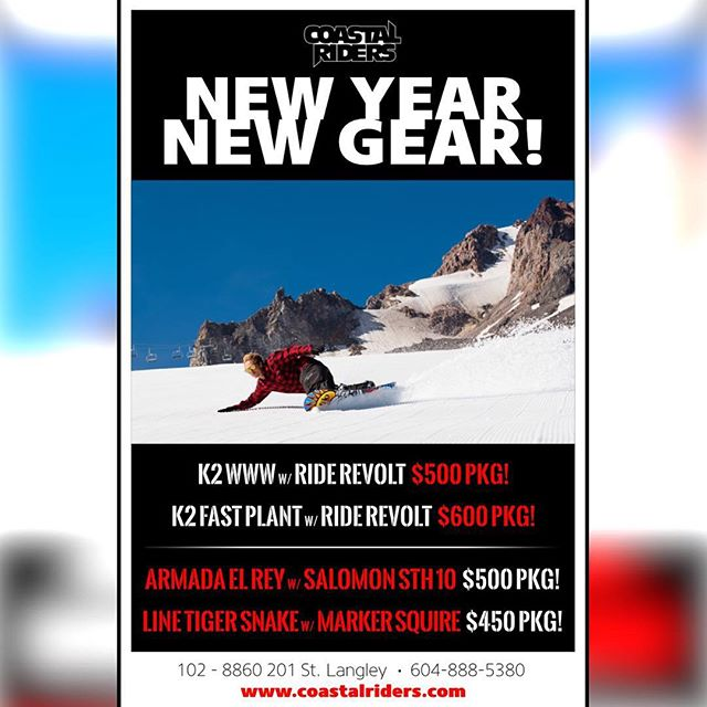 NEW YEAR NEW GEAR HOT DEALS! K2 www with ride revolts $500 K2 fast plant with ride revolts $500 Armada el Rey with salomon sth10 500$ Line tiger snake with marker squire $450