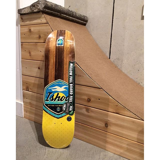 Loads of @realskateboards available at the shop including this 8.25 Mellow Concave @ishodwair