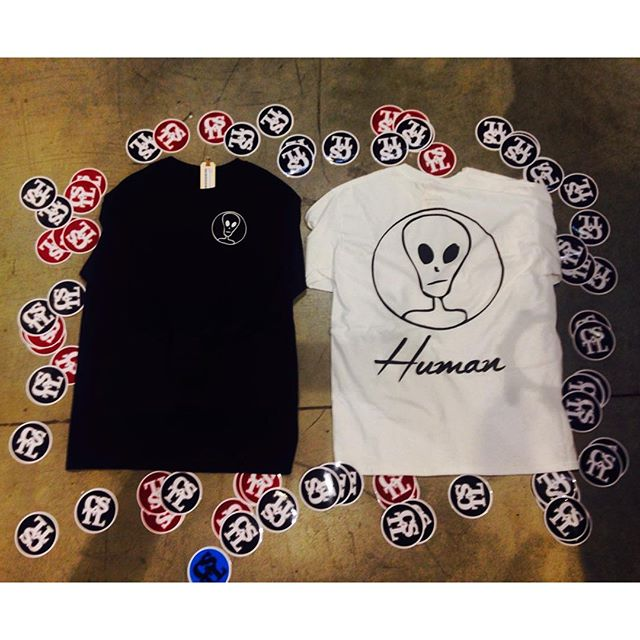@humanco is now in Coastal Riders come cop some before its all gone #supportlocal #aliens