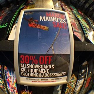 With spring break just around the corner, it's a great time to cash in on our deals. 30% off our entire winter selection. With the season still going strong, nows the time to gear up! #MarchMadness #CSTL