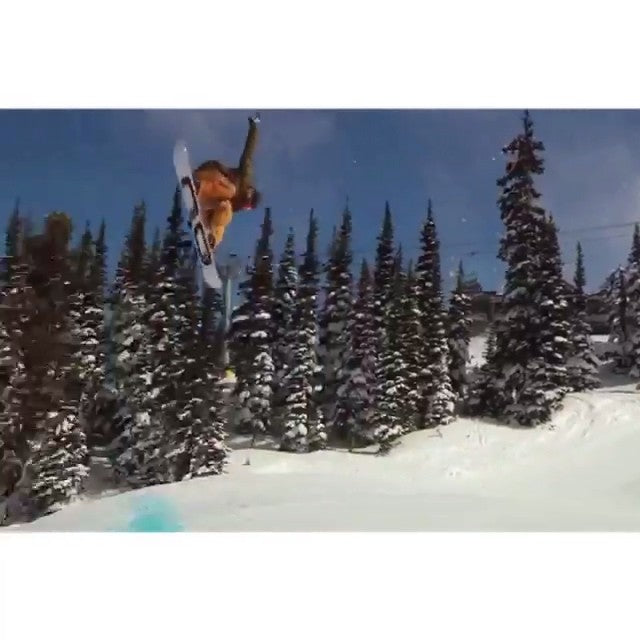 Regram from @derek_mo up at whistler last week. @_lemay filmed this edit of #Dmo rippin the park. @dope_industries @dc_snowboarding @salmonarms @iseyewear @neffheadwear @duhbolts
