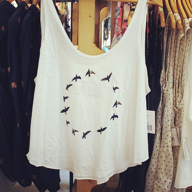 Breezy and light, just like a bird #cstlladies #spring #tanks #breezy #beautiful #cstl #girl