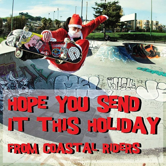 merrychristmas and happyholidays from your friends at coastalriders. Hope you send it!