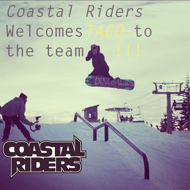 Coastal is stoked to add Delta local // Seymour thrasher @t_a_c_0 to the CSTL snow team. Welcome to the family bru!