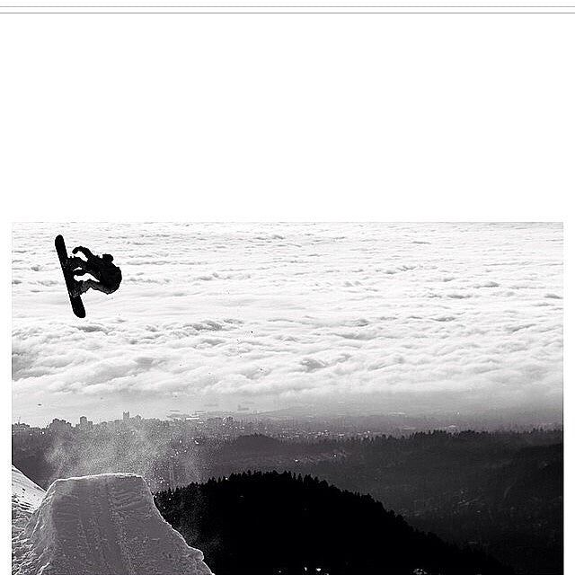 Keenan Filmer aka @sushi_suzuki blastin above the clouds at @mtseymour. Shot by @ecsphoto. Regram from @dope_industries