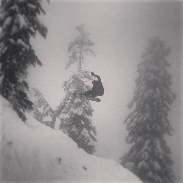 @koriath101 (Danny Koriath) blast a Mothra crail through the Seymour fog. @dinosaurs_will_die @mtseymour