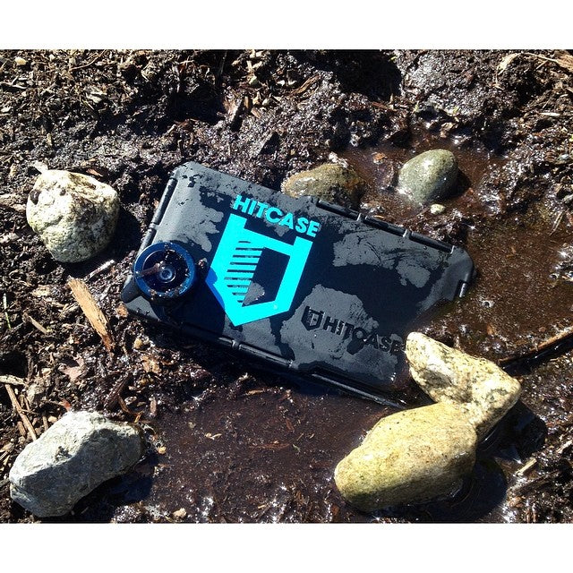 This radical @hitcase iPhone case handles anything summer can throw at it. #bombproof #fisheye #hitcase @shoutoutagency