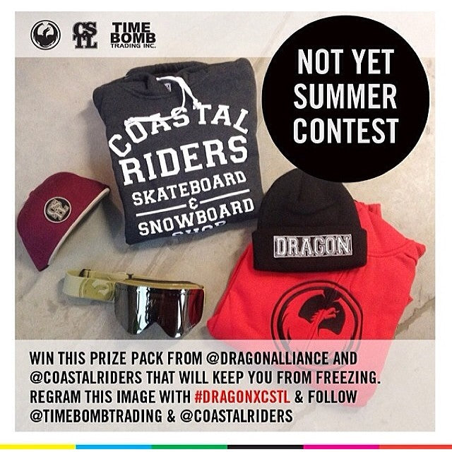 Have you entered to win? @timebombtrading x @dragonalliance x @coastalriders giveaway! Regram this image with DRAGONXCSTL to win. nfx weareframeless