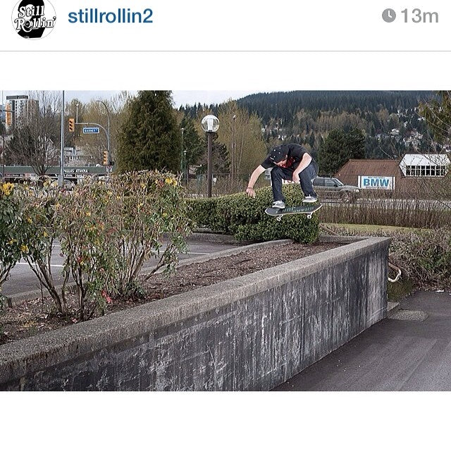 A little throwbackthursday with @hailskat1n and a lofty switch heel. Shot by @richodam. Regram from @stillrollin2. Give all those homies a follow. mikeschulze stillrollin2 richodam swheel