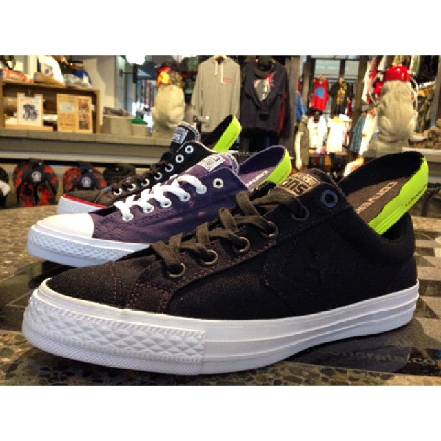 @converse_cons Collection at the shop! Classic style with the tech of a Nike #Lunarlon insole.