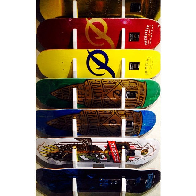 Just in @primitiveskate decks! Skate goods arriving daily. @prod84 #CSTLspring #comegetit