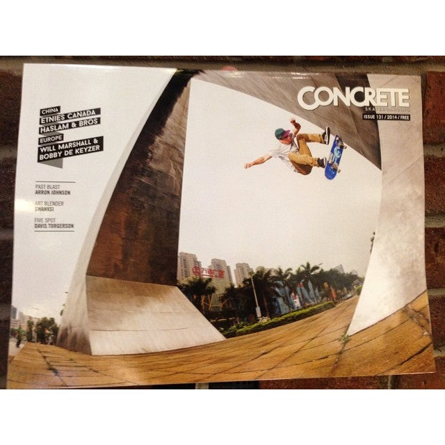 new @concreteskatemag in shop today. come grab your copy for #free