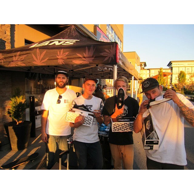 #fbf to the @vanscanada x @chanceskateboards back to school kickoff event. @getphucky @brandon_bateman & @csamplonius came up on some fresh #vans.