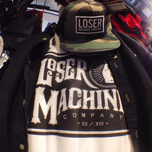 we're stocked with @losermachine. drop by the shop and check it out #streetkillers
