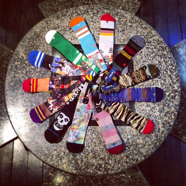 New @stancesocks are here. They are a great christmas stockingstuffer. thecrimsonghost theuncommonthread @timebombtrading