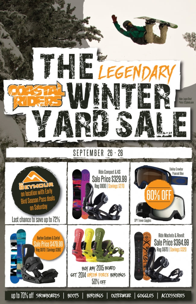 LEGENDARY WINTER YARD SALE!