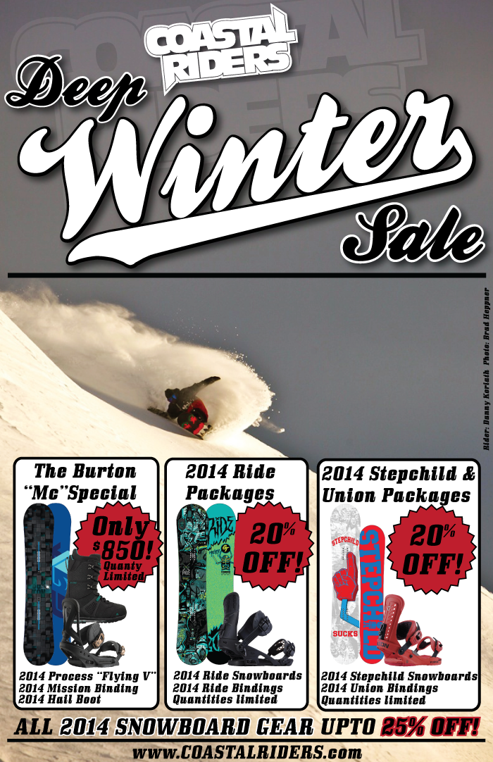 Deep Winter Sale