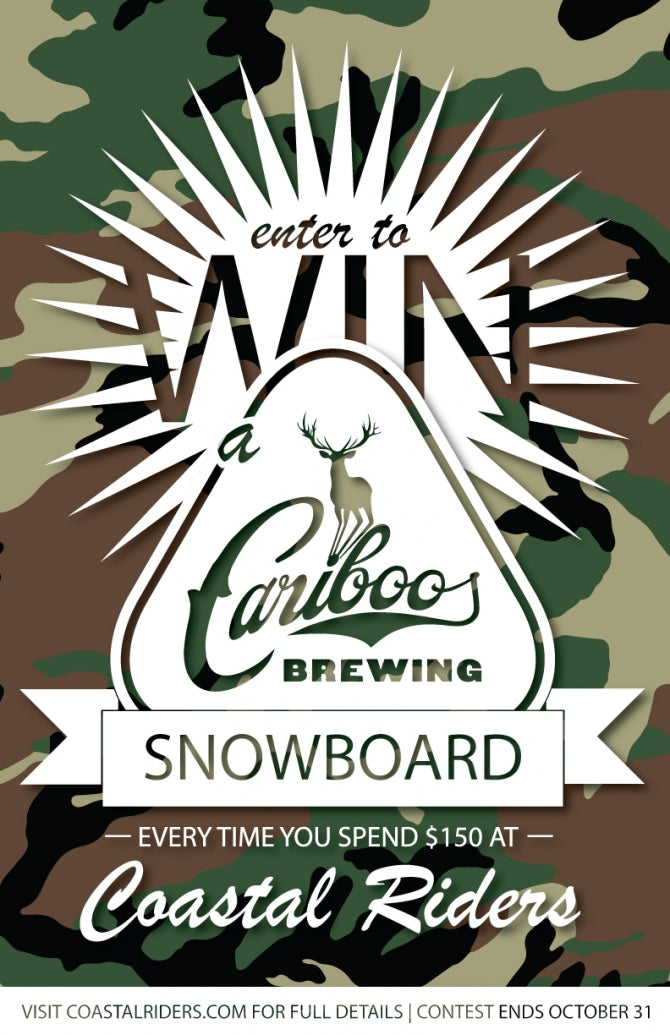 Enter To Win A Cariboo Snowboard