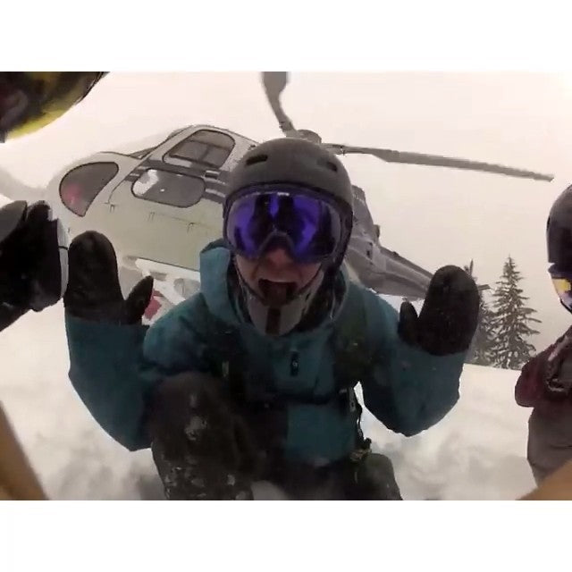coastal staff @vin_deecel was fortunate enough to go heliboarding on monday near Whistler with @darozatime & @ghalayko from @endeavorsnowboards powderfordays getoutthere